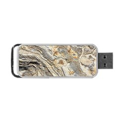 Background Structure Abstract Grain Marble Texture Portable Usb Flash (one Side)
