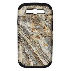 Background Structure Abstract Grain Marble Texture Samsung Galaxy S Iii Hardshell Case (pc+silicone)