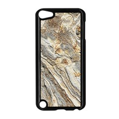 Background Structure Abstract Grain Marble Texture Apple Ipod Touch 5 Case (black)