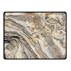 Background Structure Abstract Grain Marble Texture Double Sided Fleece Blanket (small)