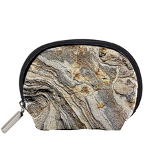 Background Structure Abstract Grain Marble Texture Accessory Pouches (small)