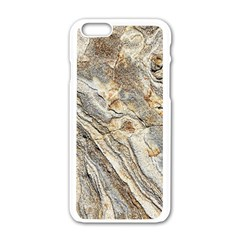 Background Structure Abstract Grain Marble Texture Apple Iphone 6/6s White Enamel Case