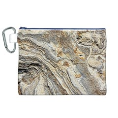 Background Structure Abstract Grain Marble Texture Canvas Cosmetic Bag (xl)