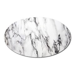 Marble Granite Pattern And Texture Oval Magnet