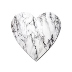 Marble Granite Pattern And Texture Heart Magnet