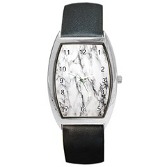 Marble Granite Pattern And Texture Barrel Style Metal Watch