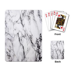 Marble Granite Pattern And Texture Playing Card