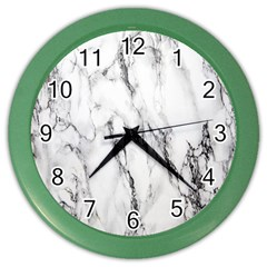 Marble Granite Pattern And Texture Color Wall Clocks