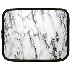 Marble Granite Pattern And Texture Netbook Case (xl)