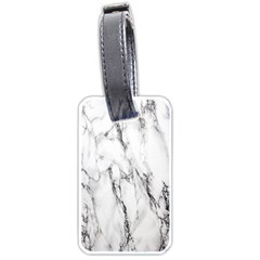 Marble Granite Pattern And Texture Luggage Tags (one Side)