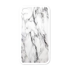 Marble Granite Pattern And Texture Apple Iphone 4 Case (white)