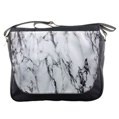 Marble Granite Pattern And Texture Messenger Bags
