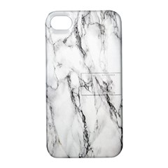 Marble Granite Pattern And Texture Apple Iphone 4/4s Hardshell Case With Stand