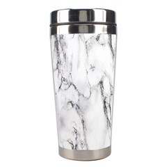 Marble Granite Pattern And Texture Stainless Steel Travel Tumblers