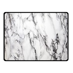 Marble Granite Pattern And Texture Double Sided Fleece Blanket (small)