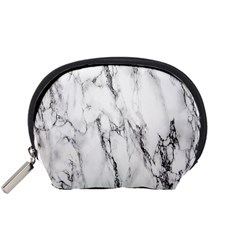 Marble Granite Pattern And Texture Accessory Pouches (small)