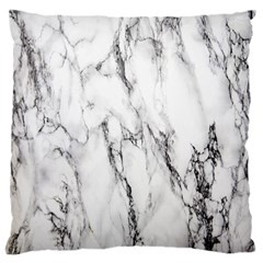 Marble Granite Pattern And Texture Large Flano Cushion Case (two Sides)