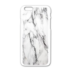 Marble Granite Pattern And Texture Apple Iphone 6/6s White Enamel Case