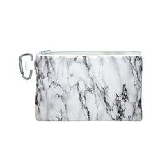 Marble Granite Pattern And Texture Canvas Cosmetic Bag (s)