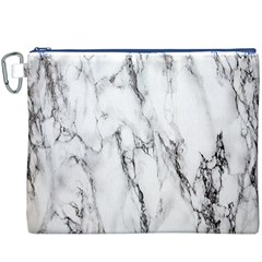 Marble Granite Pattern And Texture Canvas Cosmetic Bag (xxxl)