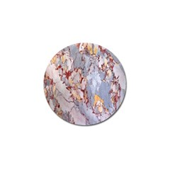 Marble Pattern Golf Ball Marker