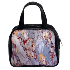 Marble Pattern Classic Handbags (2 Sides)