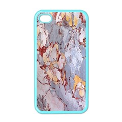 Marble Pattern Apple Iphone 4 Case (color)