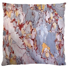 Marble Pattern Large Cushion Case (one Side)