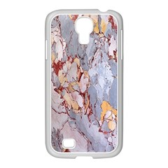 Marble Pattern Samsung Galaxy S4 I9500/ I9505 Case (white)