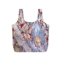 Marble Pattern Full Print Recycle Bags (s)