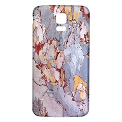 Marble Pattern Samsung Galaxy S5 Back Case (white)