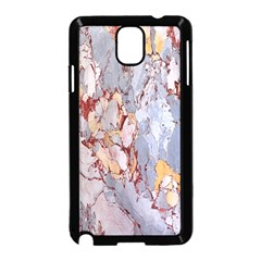 Marble Pattern Samsung Galaxy Note 3 Neo Hardshell Case (black)