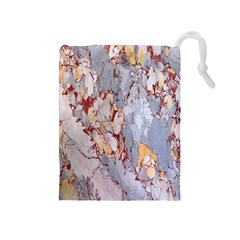 Marble Pattern Drawstring Pouches (medium)