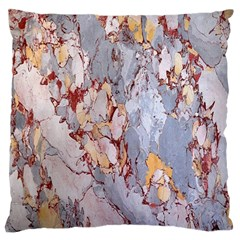 Marble Pattern Large Flano Cushion Case (one Side)
