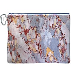 Marble Pattern Canvas Cosmetic Bag (xxxl)