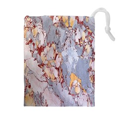 Marble Pattern Drawstring Pouches (extra Large)