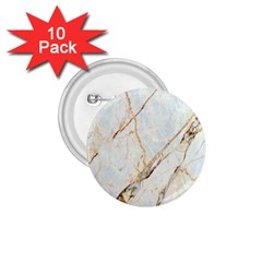 Marble Texture White Pattern Surface Effect 1 75  Buttons (10 Pack)
