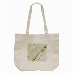 Marble Texture White Pattern Surface Effect Tote Bag (cream)