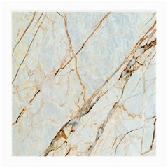Marble Texture White Pattern Surface Effect Medium Glasses Cloth (2 Side)