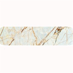Marble Texture White Pattern Surface Effect Large Bar Mats