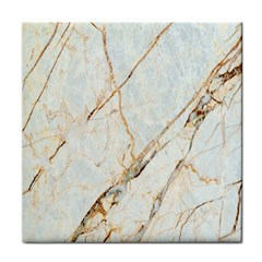 Marble Texture White Pattern Surface Effect Face Towel