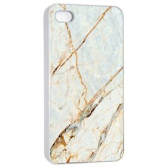 Marble Texture White Pattern Surface Effect Apple Iphone 4/4s Seamless Case (white)