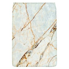 Marble Texture White Pattern Surface Effect Flap Covers (l)