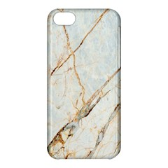 Marble Texture White Pattern Surface Effect Apple Iphone 5c Hardshell Case