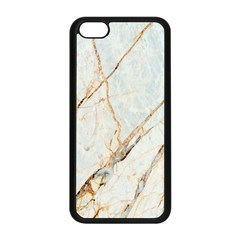 Marble Texture White Pattern Surface Effect Apple Iphone 5c Seamless Case (black)