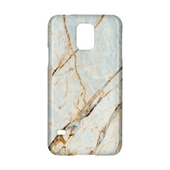 Marble Texture White Pattern Surface Effect Samsung Galaxy S5 Hardshell Case