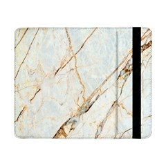 Marble Texture White Pattern Surface Effect Samsung Galaxy Tab Pro 8 4  Flip Case