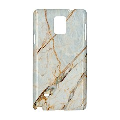 Marble Texture White Pattern Surface Effect Samsung Galaxy Note 4 Hardshell Case