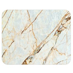 Marble Texture White Pattern Surface Effect Double Sided Flano Blanket (medium)