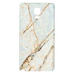 Marble Texture White Pattern Surface Effect Galaxy Note 4 Back Case